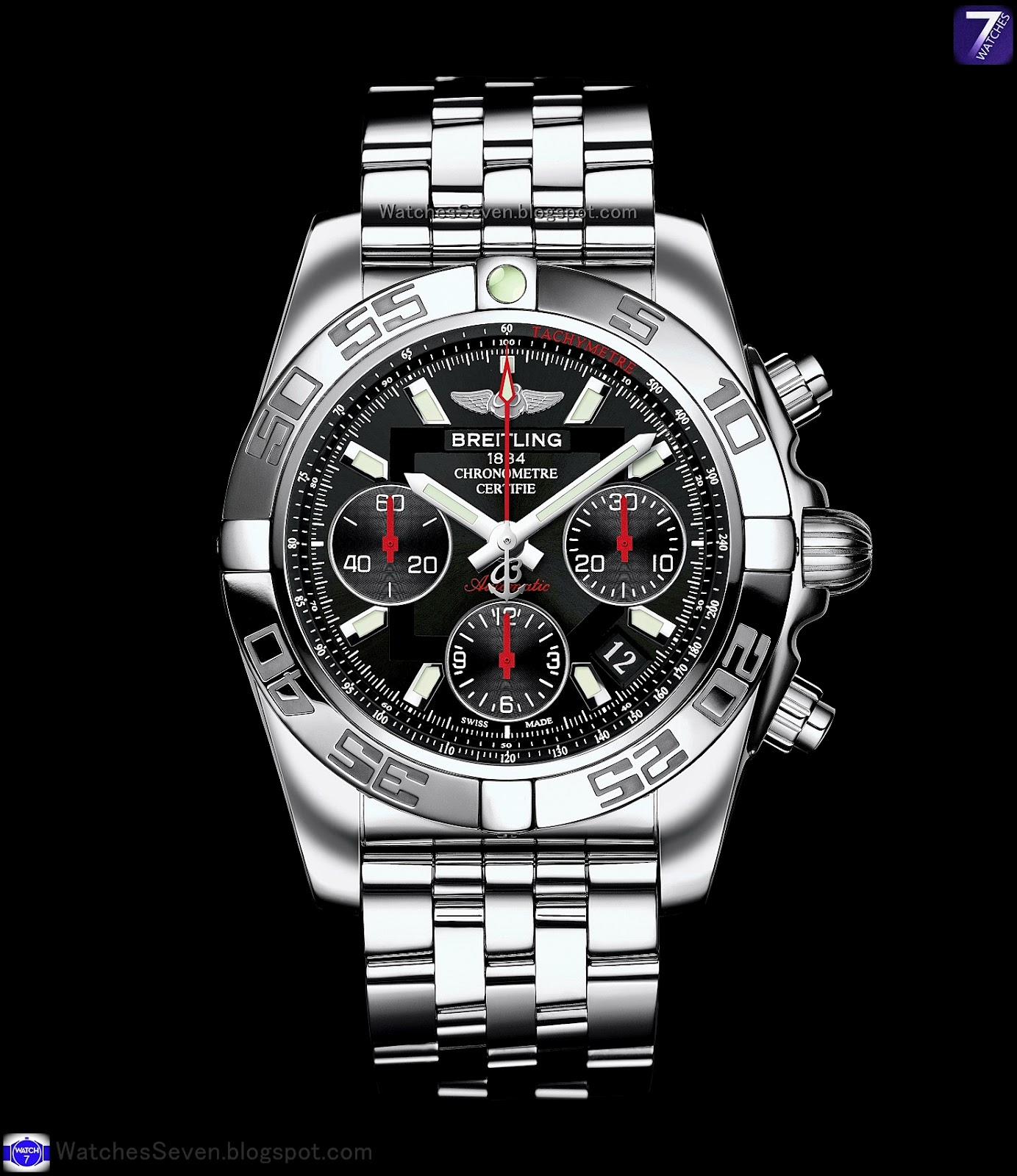 watches 7 breitling chronomat 41 chronograph limited. Black Bedroom Furniture Sets. Home Design Ideas
