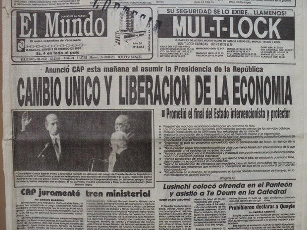Resultado de imagen para 27 de febrero de 1989