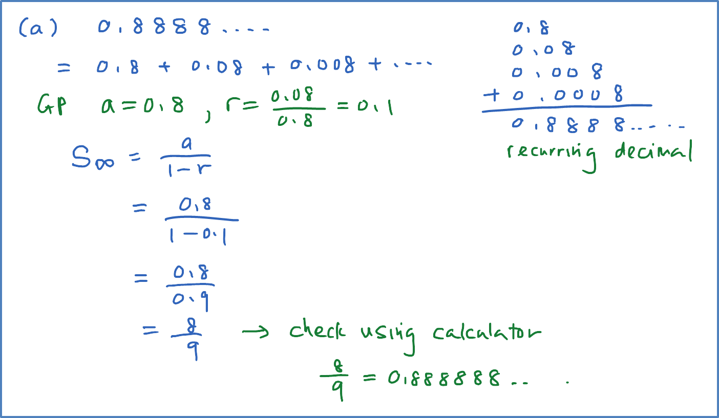 writing repeating decimals as fractions Rational numbers, when written as decimals, are either terminating or non-terminating repeating decimals convertig terminating decimals into fractions is.
