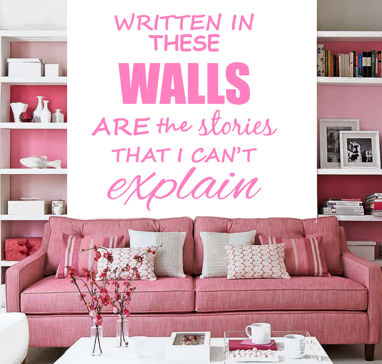 1d one direction story of my life lyrics wall sticker wall decal 1d 2 ebay. Black Bedroom Furniture Sets. Home Design Ideas