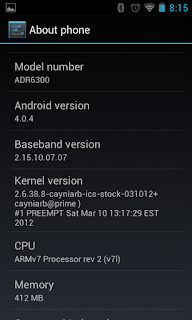ICS Version Confirmation