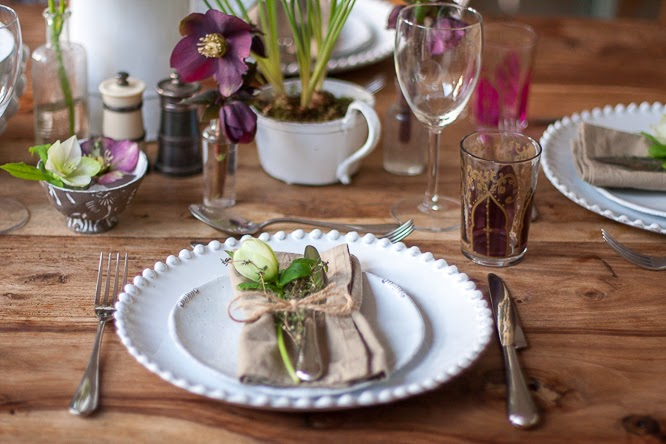 February styling the seasons - laying the table by Alexis at somethingimade.co.uk