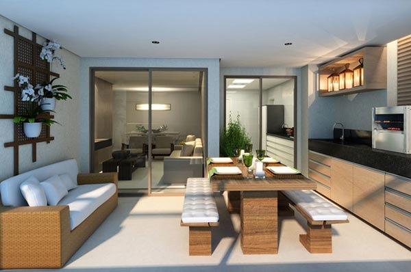um jardim para cuidar nova tend ncia varanda gourmet. Black Bedroom Furniture Sets. Home Design Ideas