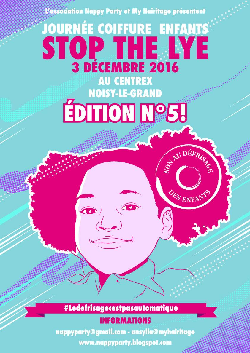 Journée Coiffure Enfant - Stop the Lye