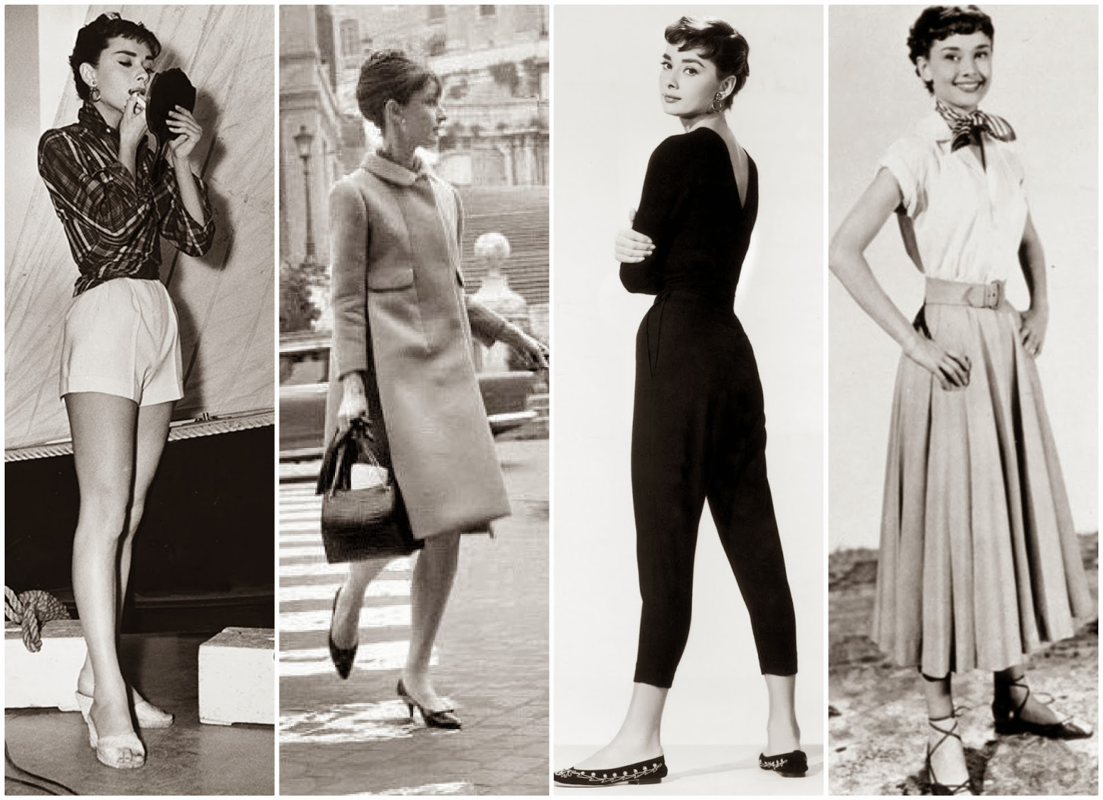 Audrey Hepburn Street Style