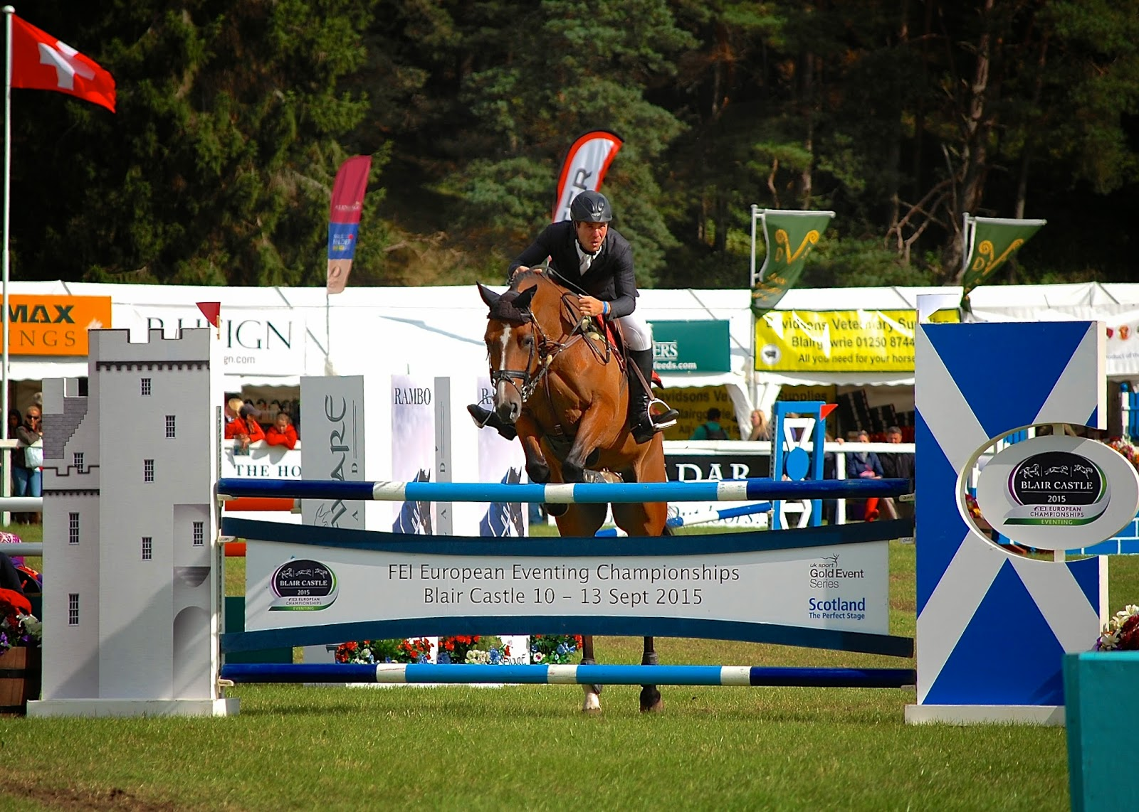 FEI European Eventing Championships at Blair Castle, 10 - 13 September 2015
