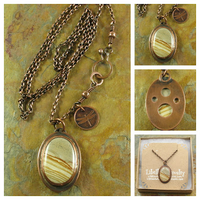 Owyhee Jasper Pendant Necklace