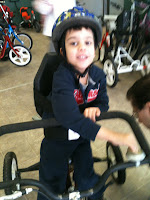Oatie Riding his Bike