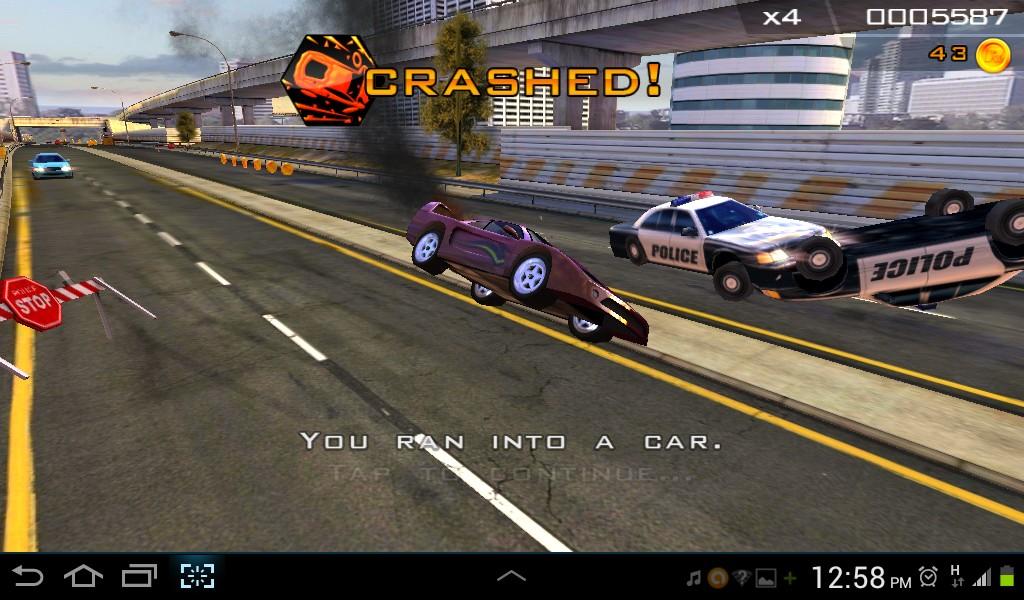 لعبة السيارات المطاردات البوليسية للاندرويد Redline Rush,بوابة 2013 Screenshot_2013-12-0
