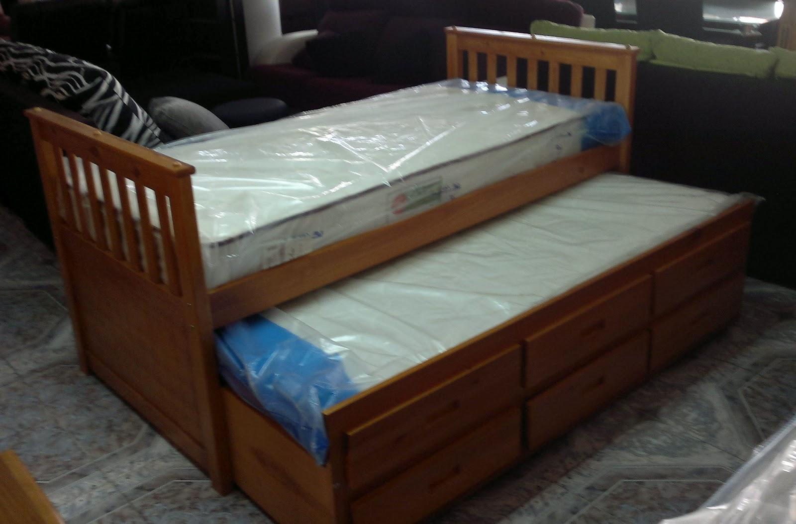 Karruzel del hogar cama nido for Cama nido de 3 camas