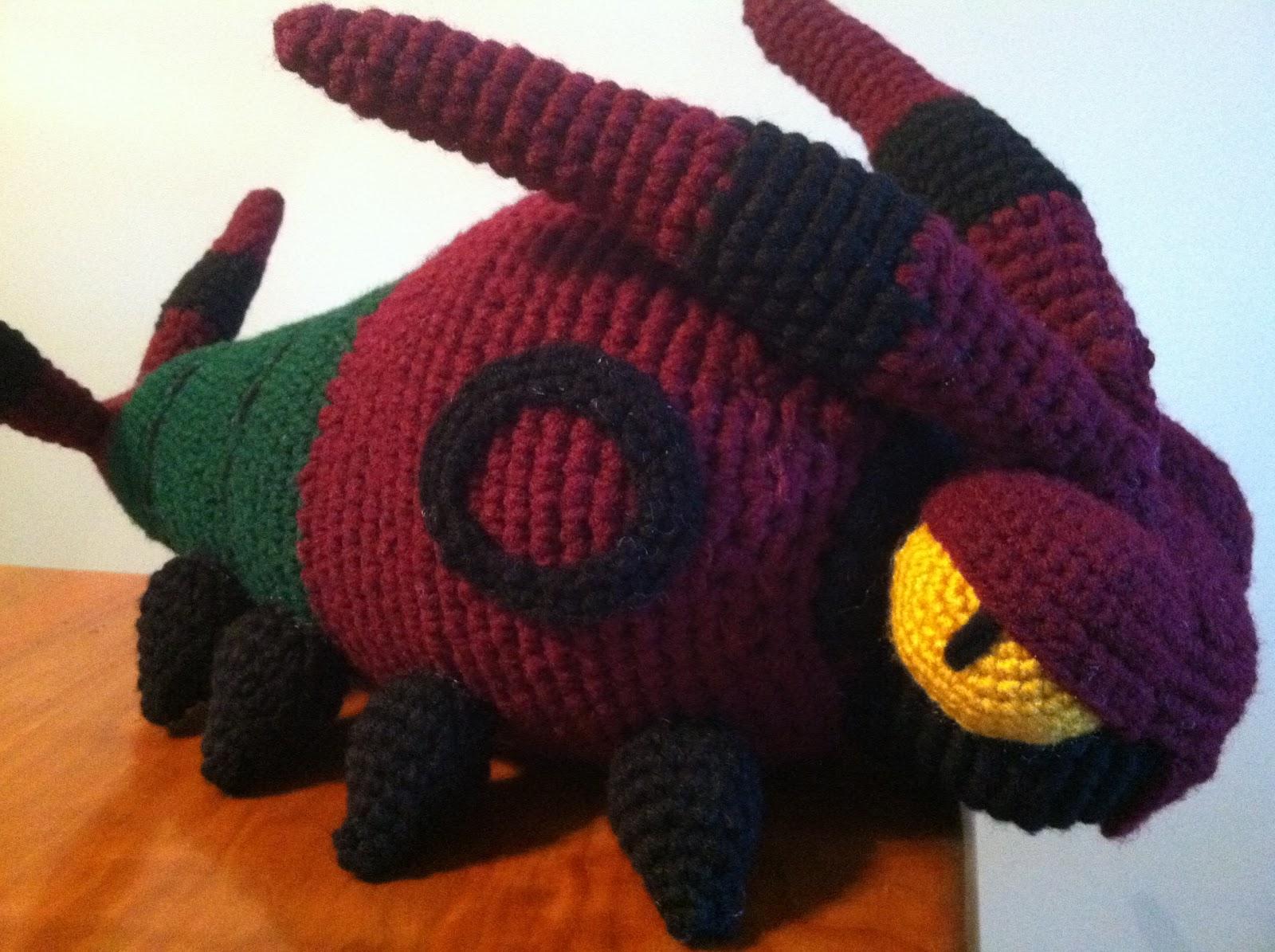 Heart in Flight Crochet: Venipede Crochet Plush Pattern