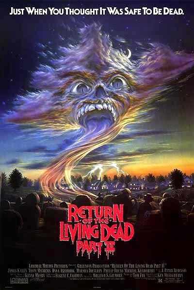 El Regreso De Los Muertos Vivientes 2 (La Divertida Noche De Los Zombies) (1988)