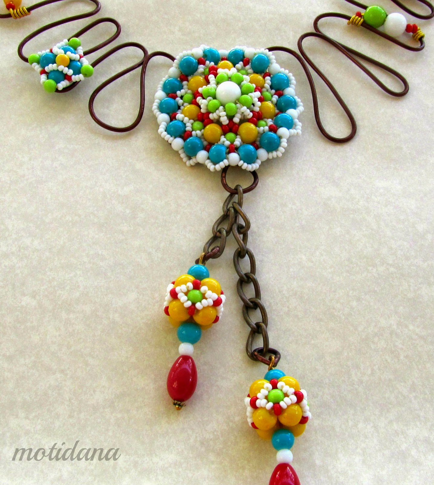 beaded beads , Indian beadwork