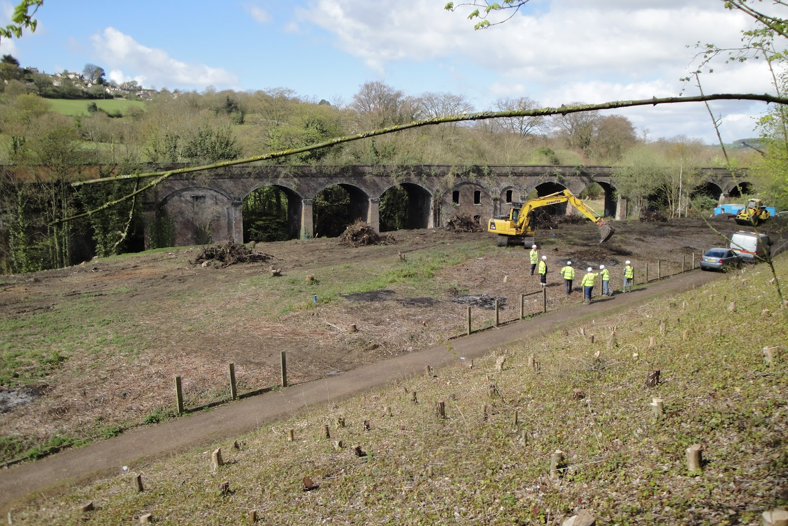 Stroud canal photos show how project is changing stroud s landscape
