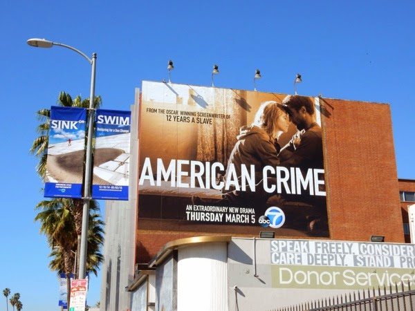 American Crime series premiere billboard
