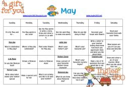 May free calendar