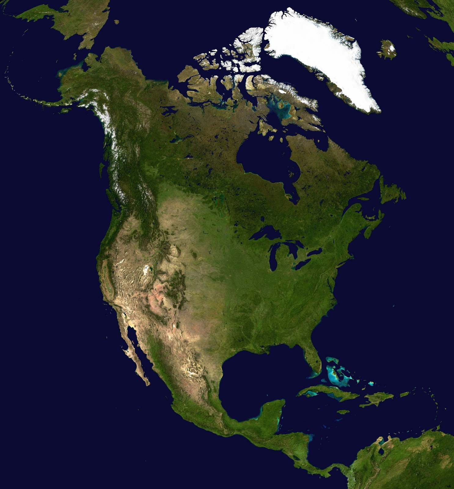 North America Ecosystem Map Picture Ideas References