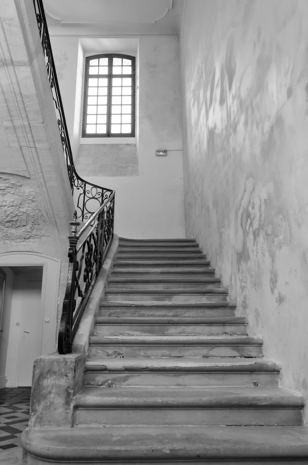 Pont de l'Arche - Abbaye de Bonport  - escalier
