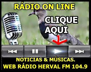 ESCUTAR RÁDIO COMUNITÁRIA HERVAL FM 104.9