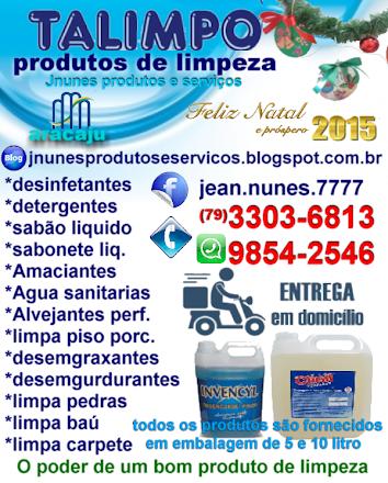 jnunes produtos de limpeza #aracaju