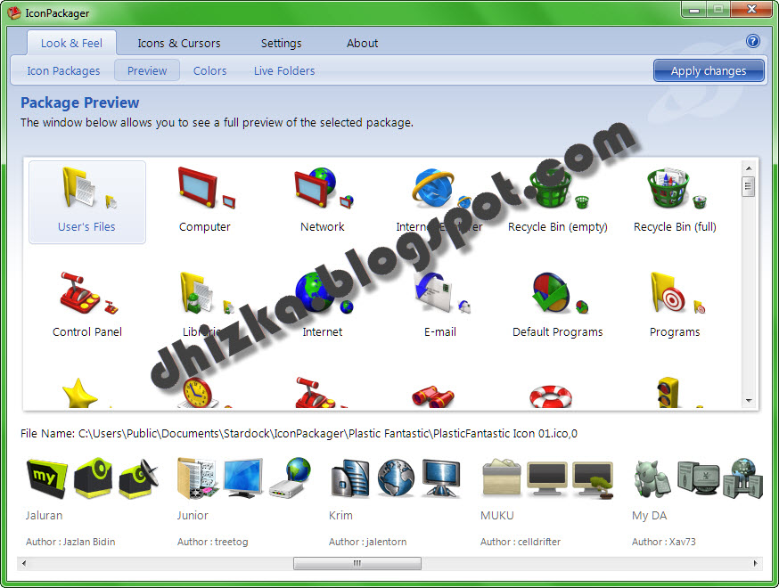 Stardock IconPackager 5 with Skin - Free Download Software ...
