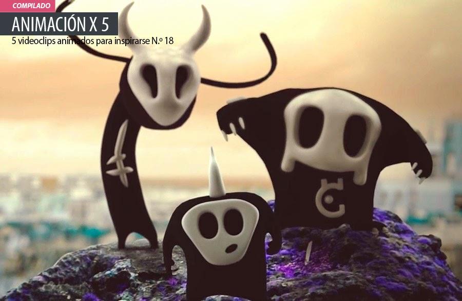 Animación. 5 videoclips animados para inspirarse N.º 18