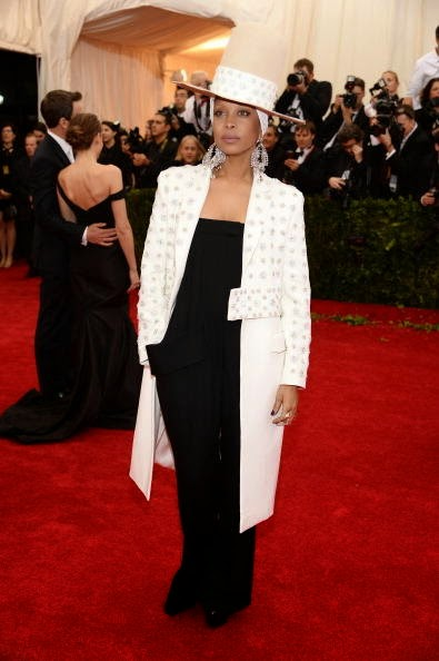 Eryka Badu in Givenchy