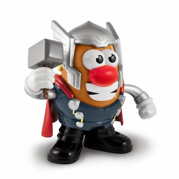 Figura Mr. Potato Thor