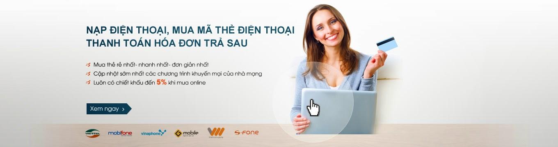 Thẻ điện thoại online