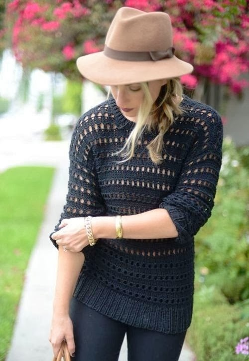 Lovely black fall fashion trend