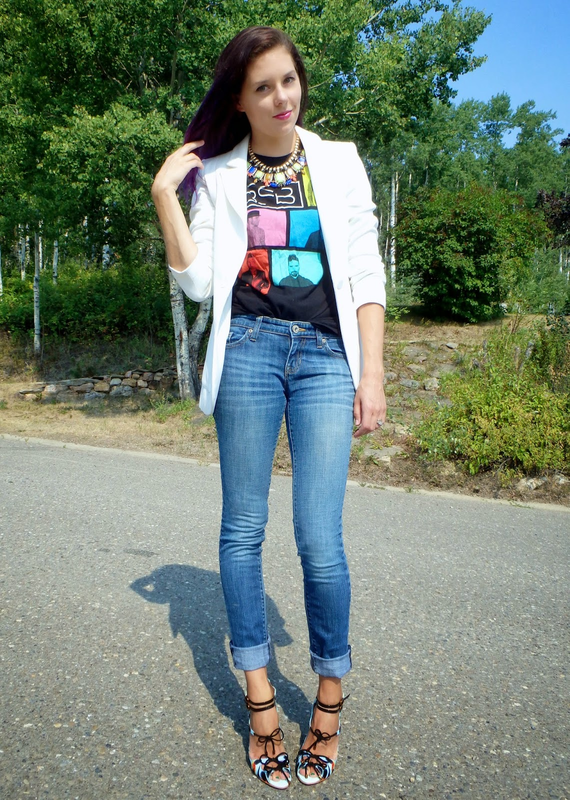 Canadian Fashion Blog, Dressed up Jeans