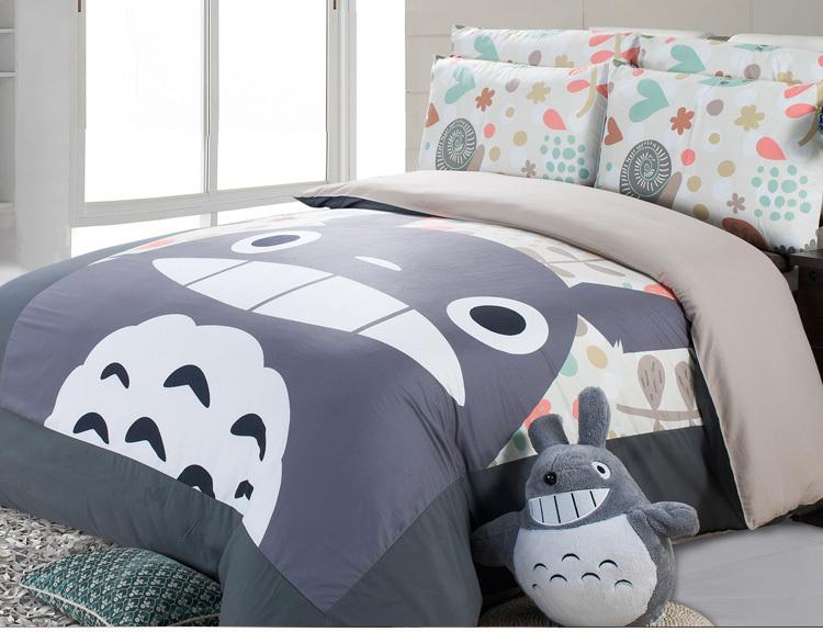 juego de cama de totoro