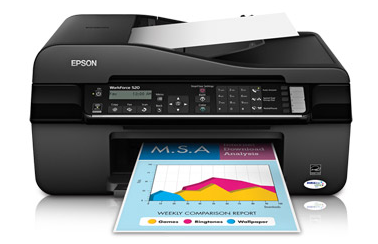 Images Epson Workforce 520 All In One