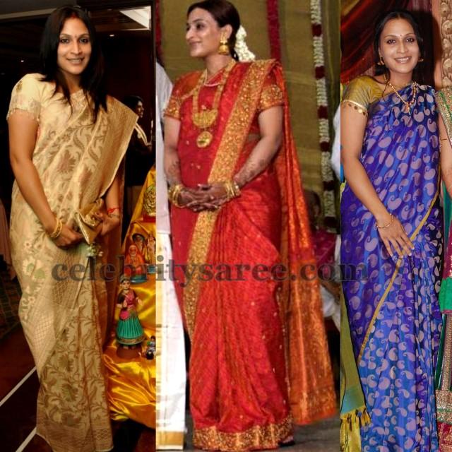 Aishwarya rajinikanth Silk Sarees