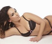 Liliana Ferreira Miss Fanática Record Fevereiro 2014