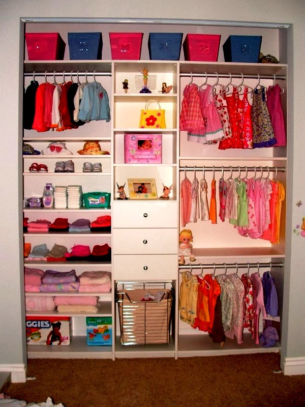 Closets para dormitorios juveniles walk in closets para for Ideas para closets pequenos