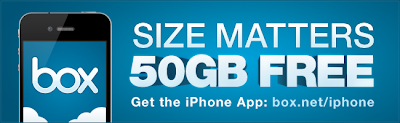 iPad and iPhone Users Get 50GB Cloud Storage FREE from Box.com