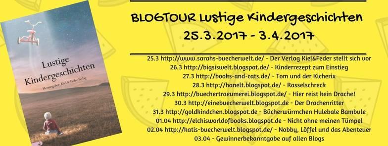 Blogtour - Lustige Kindergeschichten (25.03. - 03.04.2017)