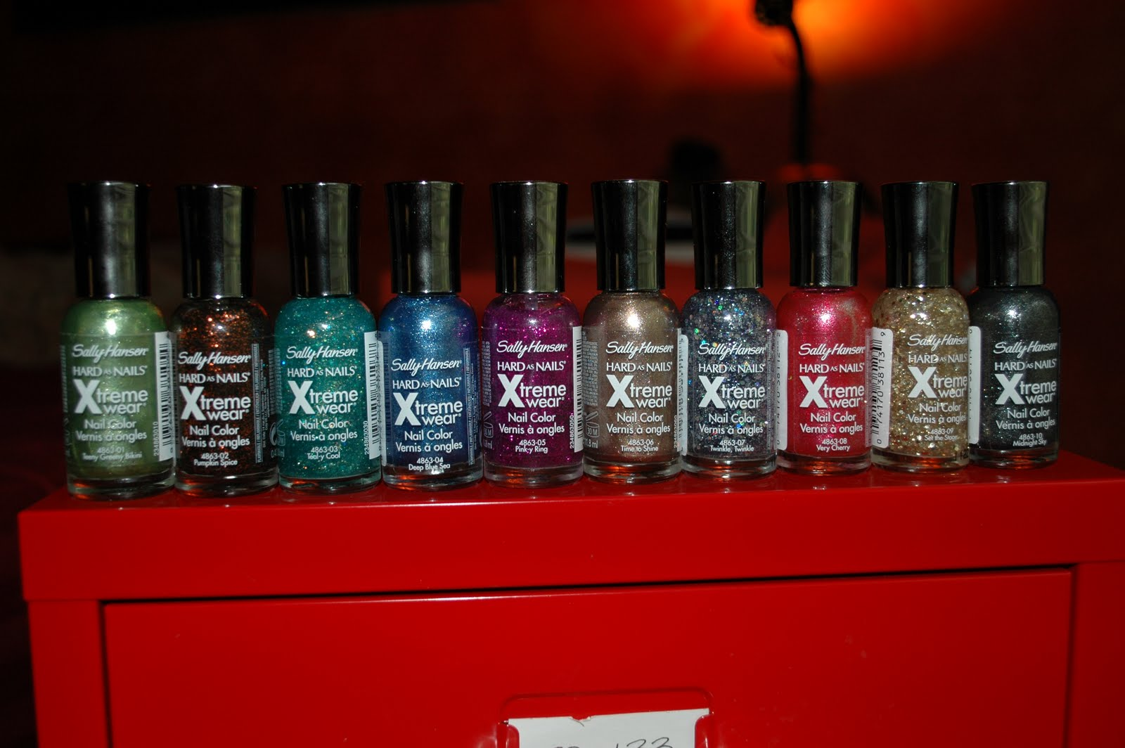 the Polished Crow: 2011 Sally Hansen Hard as Nails Xtreme Wear ...
