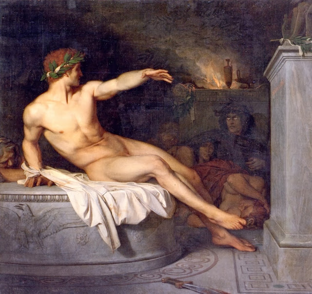 seer,alexandre cabanel,classical painting