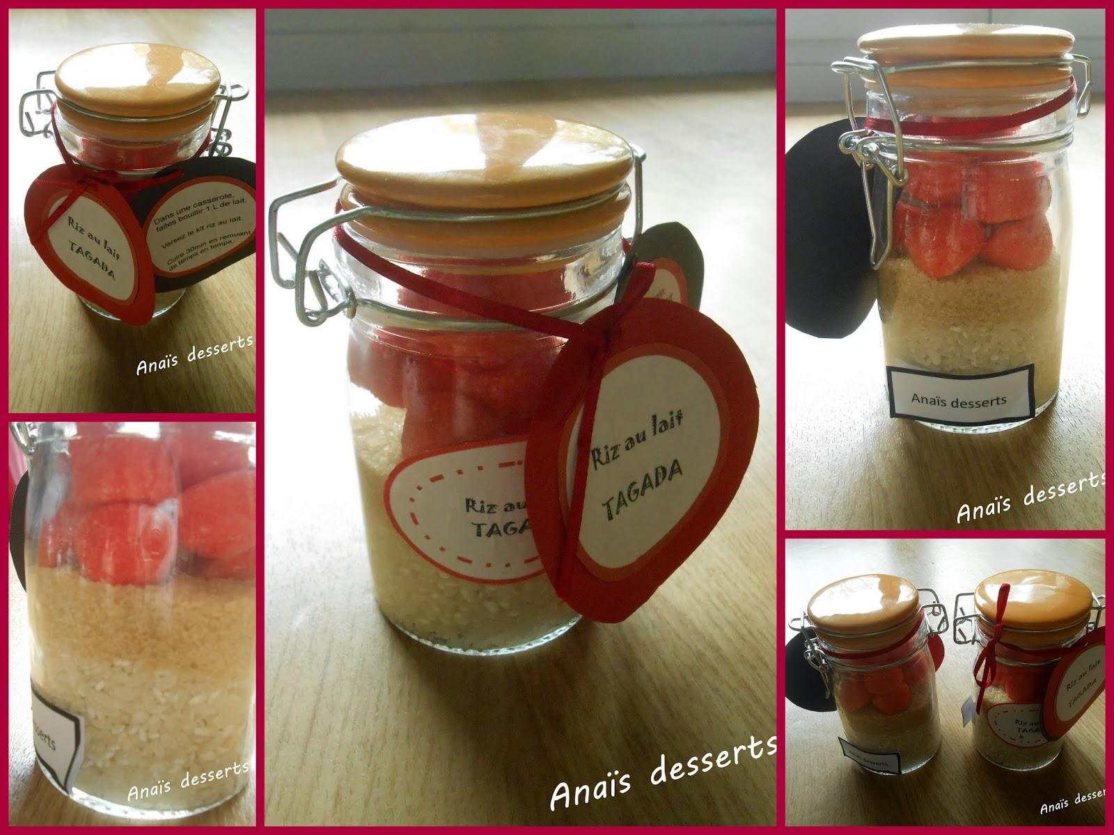 Les recettes de dessert d 39 ana s kit maison cookies riz for Sac magique maison riz