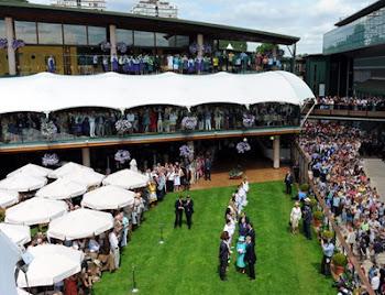 Wimbledon 2011 - Por dentro