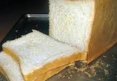 Roti Tawar Putih Tanpa Kulit