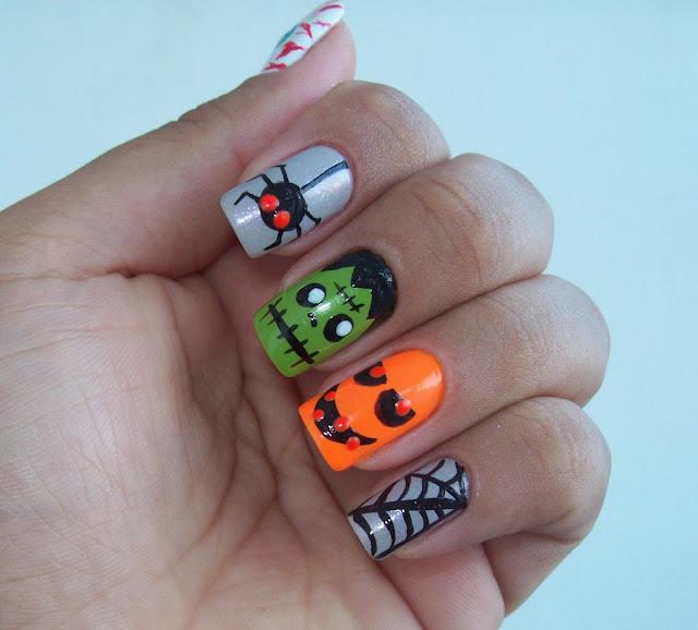 Especial Halloween - 5 Artes, 5 Passos