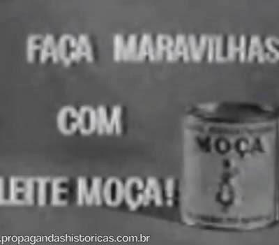 Propaganda antiga do Leite Moça (VT) em 1960.
