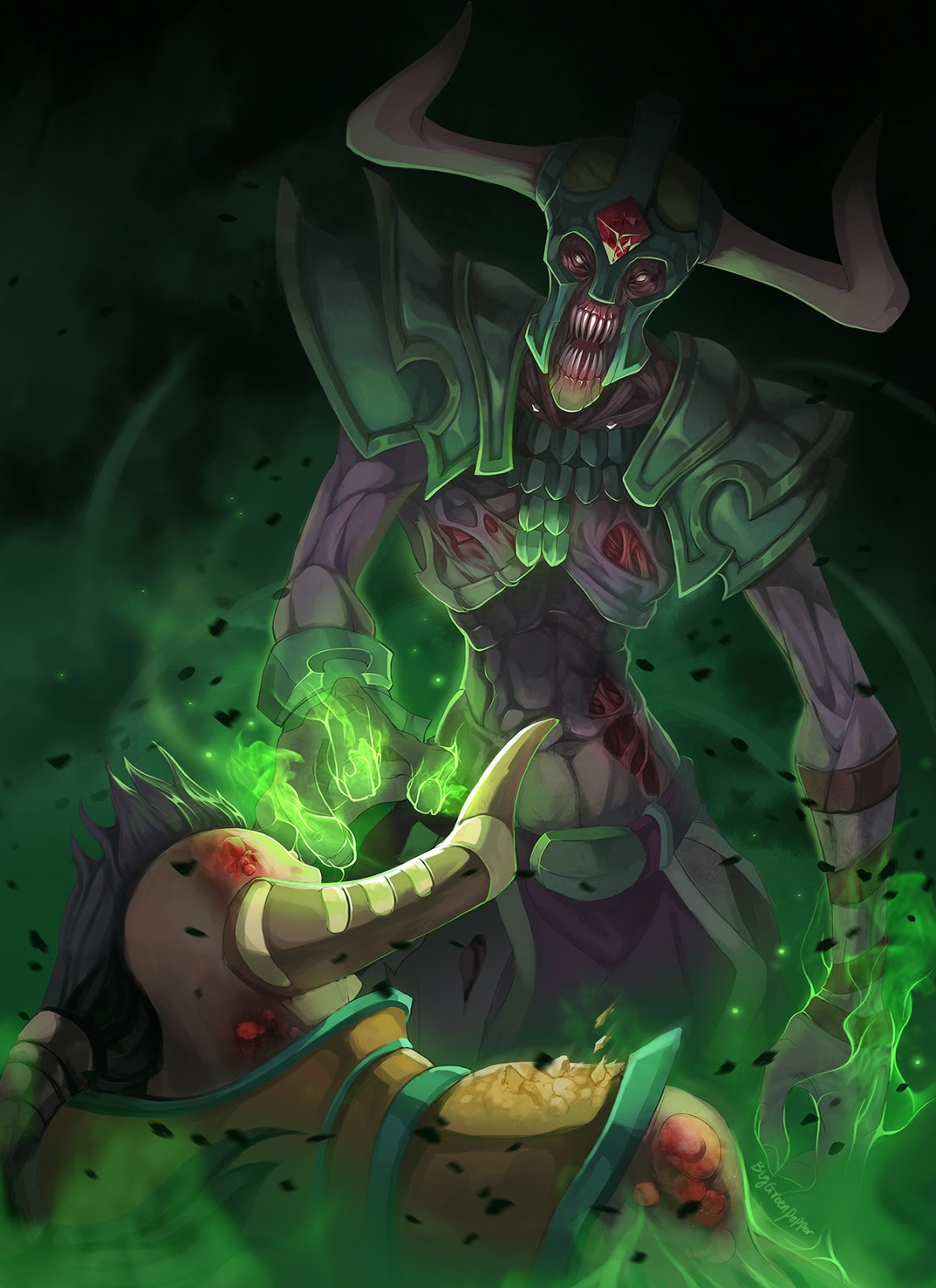 dota 2 wallpapers dota 2 fanart undying soul absorption