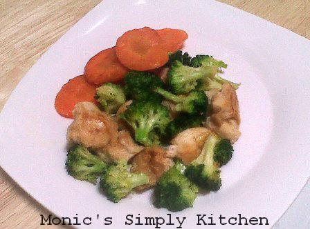Resep praktis : ayam bakar brokoli wortel