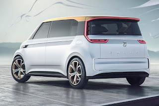 Volkswagen Budd-e Concept (2016) Rear Side