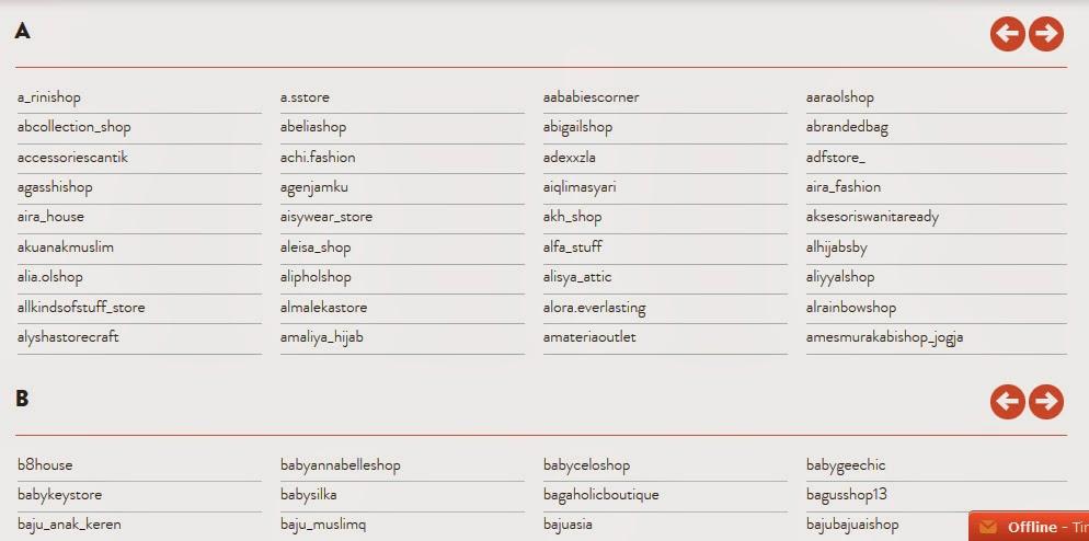 Daftar Nama Toko Jaringan Shopious