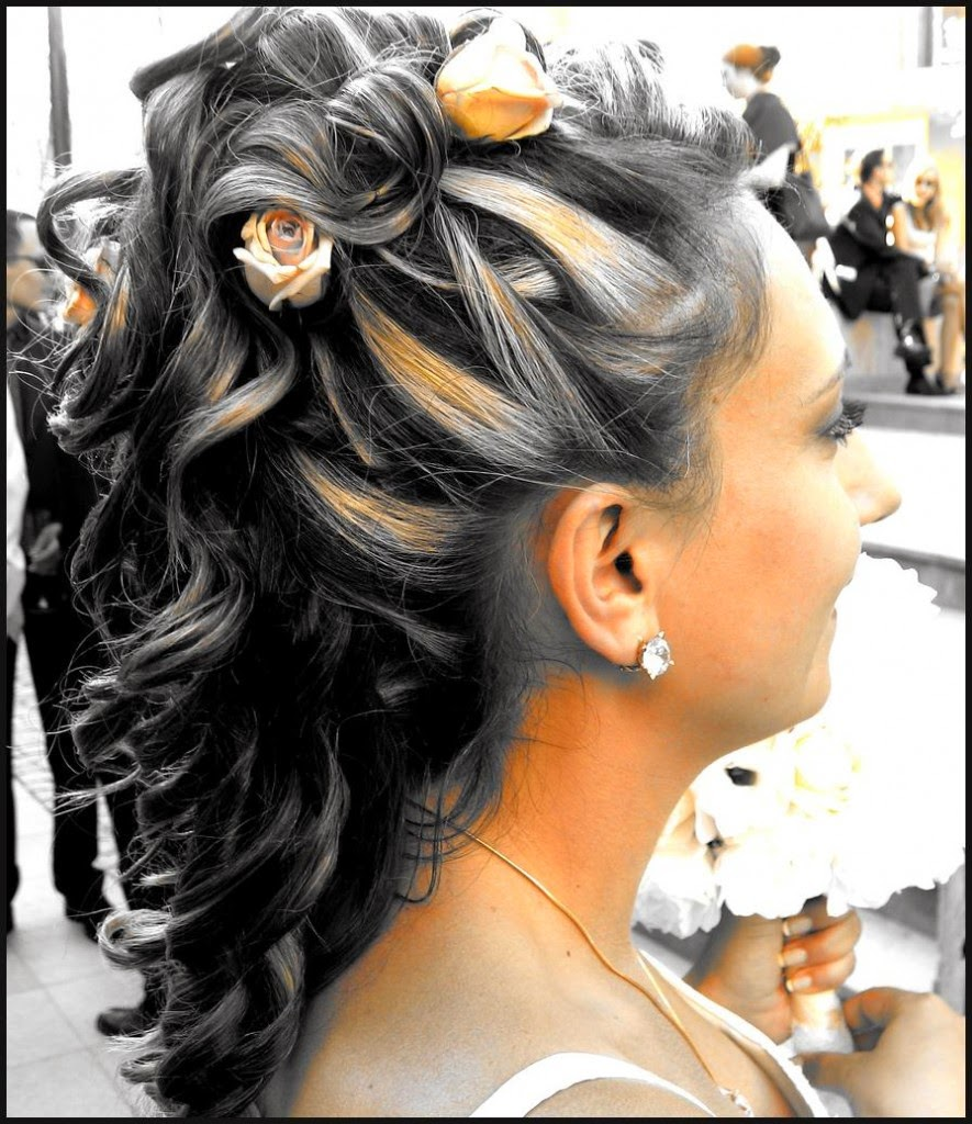 cute naturally curly hairstyles for long hair}
